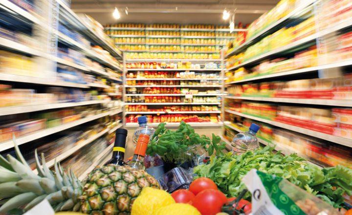 Supermärkte hängen Discounter ab