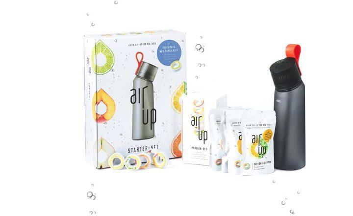 air up: Wassertrinken leicht gemacht