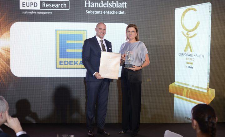 Corporate Health Award geht an Edeka