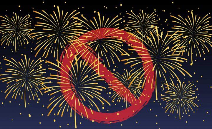 Feuerwerk – nein Danke! Verzicht auf Knallergeschäft