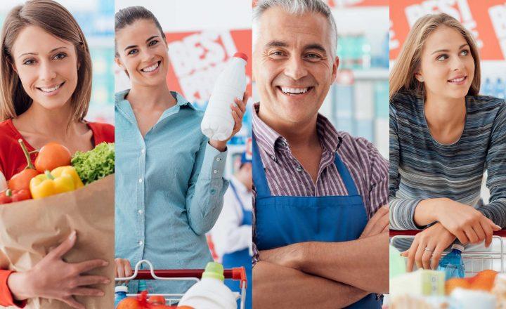 Supermarkt bietet Rabatt für helfende Hände
