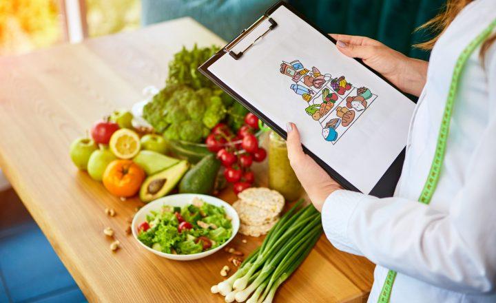 Die Ernährungspyramide: gesund durch die richtige Ernährung