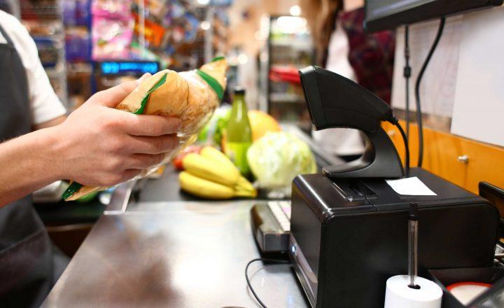 Verschlüsselte Durchsagen im Supermarkt