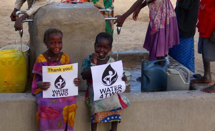 WATER4TWO – Wasser trinken und die Welt verändern