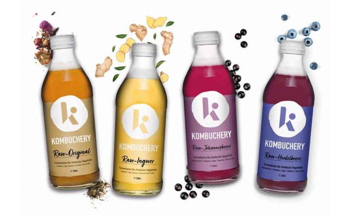 Kombucha von KOMBUCHERY – die erfrischende Bio-Alternative zu Softdrinks und Limonaden