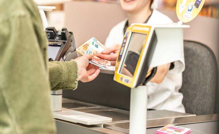 dm: Bargeld ab dem ersten gekauften Produkt!