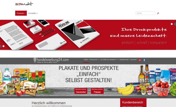 Handelswerbung24.com – Plakate und Prospekte aus dem Büro gestalten und in vier Werktagen erhalten