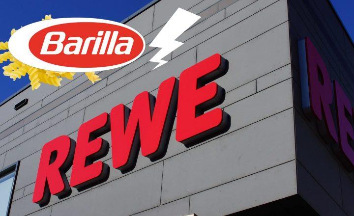 REWE und Barilla: Der Preis ist zu heiß!