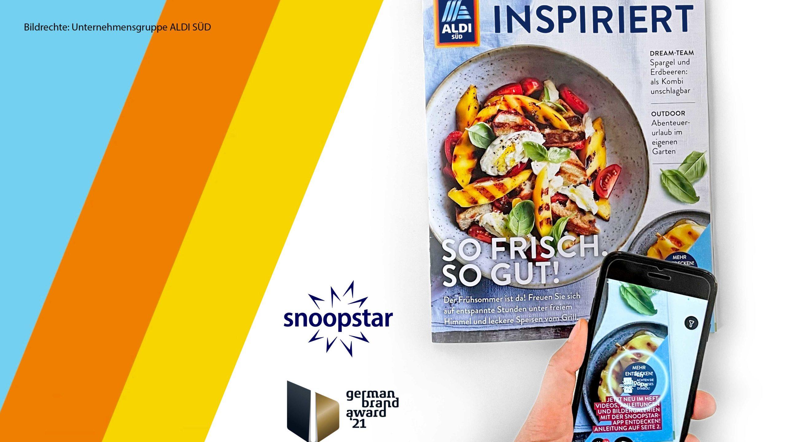 ALDI SÜD gewinnt mit snoopstar Gold beim German Brand Award