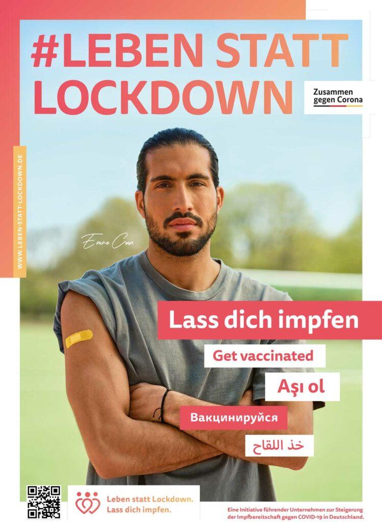 Leben statt Lockdown: Emre Can