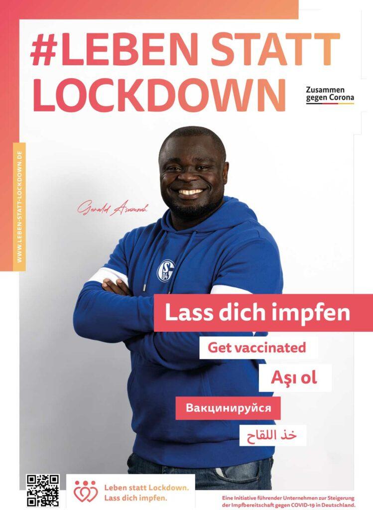 Leben statt Lockdown: Gerald Asamoah